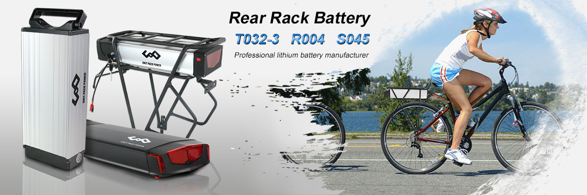 Hot selling T032 Rear Rack battery